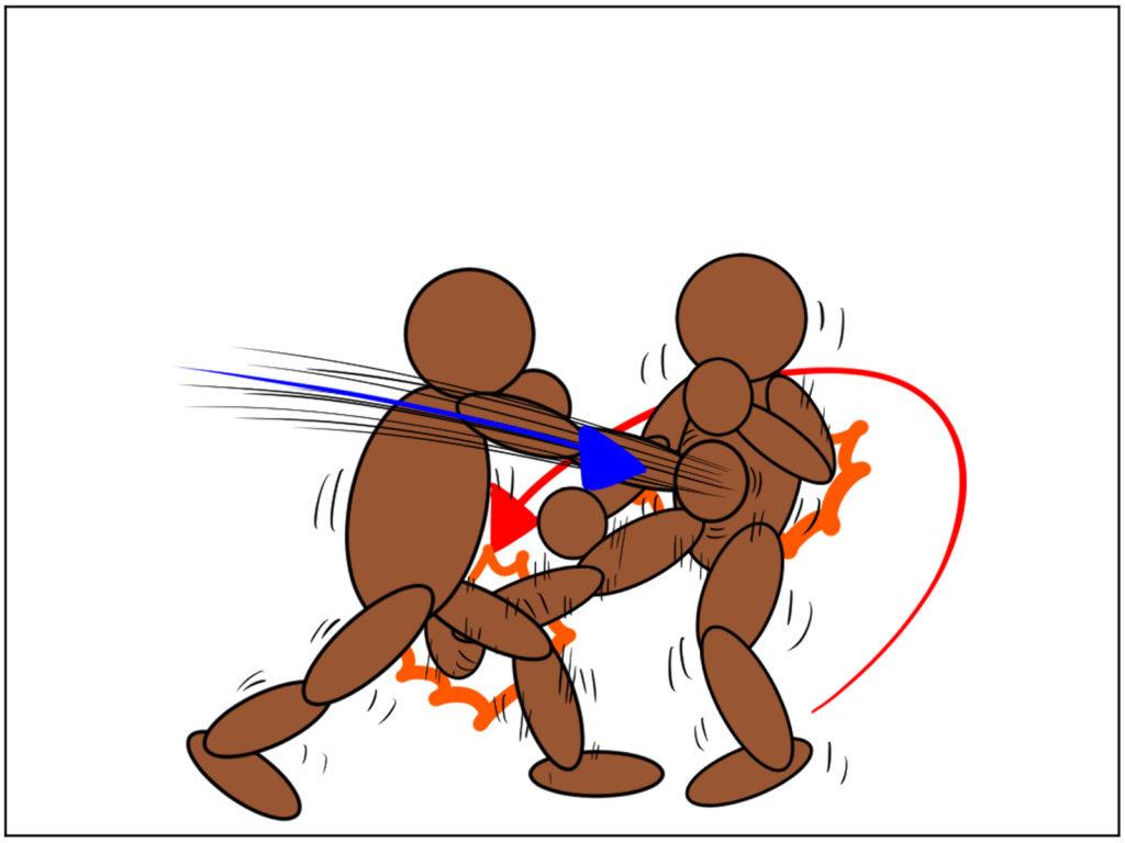 極真空手|試合中、相手のセコンドの指示を逆手に取って攻めのキッカケを作る