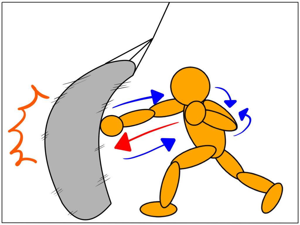 極真空手|背筋(ヒッティングマッスル)を鍛えるとパンチ力は上がるのか?
