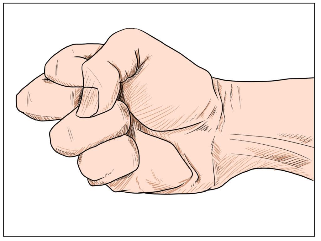極真空手|中指一本拳という技術を紹介します